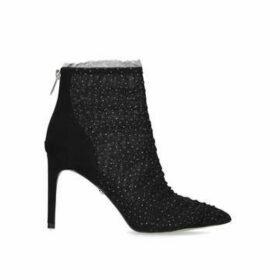 Sam Edelman Farren - Black Stiletto Heel Ankle Boots