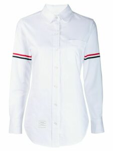 Thom Browne Grosgrain Armband Oxford Shirt - White