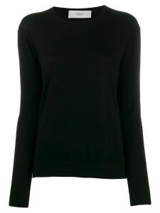 Pringle of Scotland fine knit round neck sweater - Black