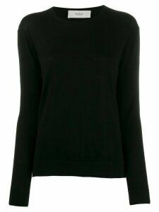 Pringle of Scotland fine knit round neck sweater - Black