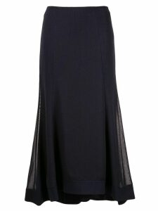 CAMILLA AND MARC high-low skirt - Blue
