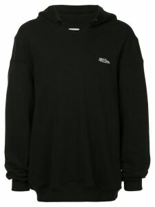 We11done hooded sweatshirt - Black