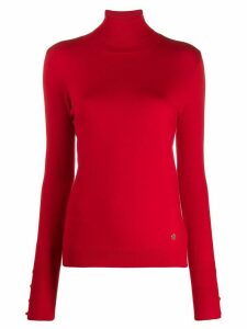 Trussardi Jeans turtle neck sweater - Red