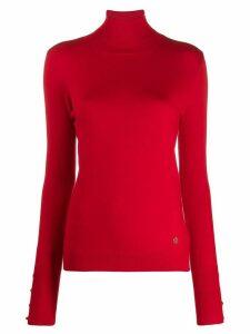 Trussardi Jeans turtle neck sweater - Red
