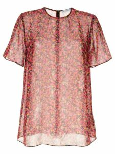 CAMILLA AND MARC Lilia sheer T-shirt - Red