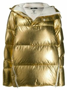 Mammut metallic puffer jacket - GOLD