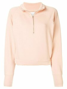 Current/Elliott half-zip sweatshirt - PINK