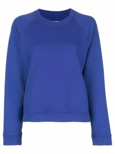Raquel Allegra loose fit fleece sweater - Blue