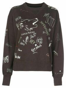 Isabel Marant Étoile Tigrane crew-neck sweatshirt - Black