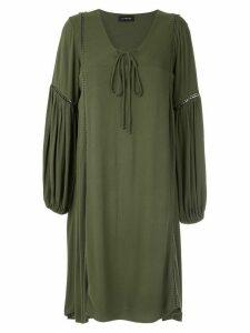Olympiah Hagia wide sleeves dress - Green