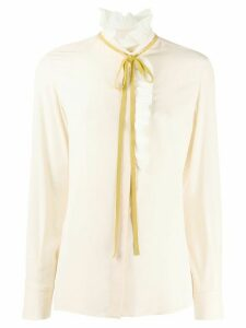 Chloé ruffled blouse - NEUTRALS