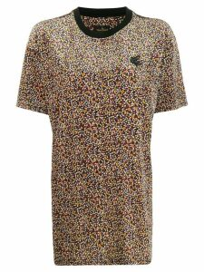Vivienne Westwood Anglomania floral Boxy T-shirt - Black