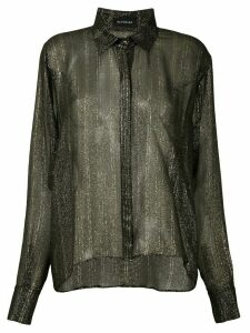 Olympiah Rose silk shirt - Black
