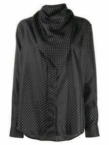 Victoria Beckham polka dot shirt - Black