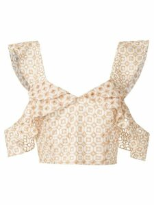 Olympiah Orchid cropped top - AREIA