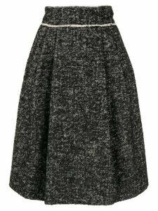 Dolce & Gabbana high-rise pleated skirt - Black