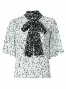 Olympiah Jarosse printed blouse - White