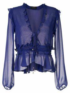 Olympiah Ravena ruffle blouse - Blue