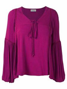 Olympiah Hagia wide sleeves blouse - PINK