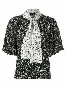 Olympiah Jarosse printed blouse - Black