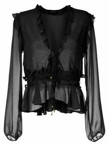 Olympiah Ravena ruffle blouse - Black