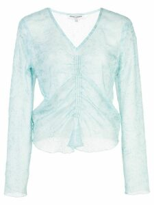 Opening Ceremony ruched front top - Blue