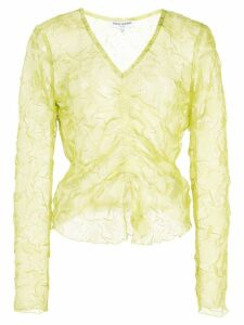 Opening Ceremony ruched front top - Green