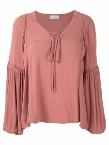Olympiah Hagia wide sleeves blouse - PINK