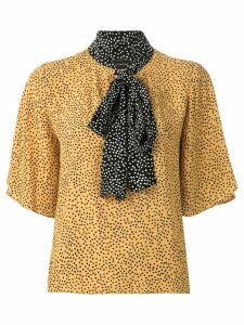 Olympiah Jarosse printed blouse - Yellow