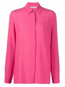 Emilio Pucci silk straight-fit shirt - PINK
