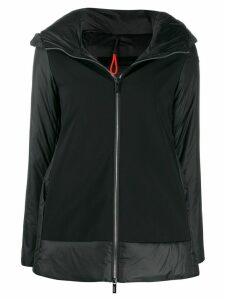 RRD zip-up hooded padded jacket - Black