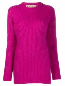 Marni ribbed knit jumper - PURPLE
