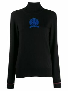 Hilfiger Collection HCW CREST LS SWEATER TURTLE NECK - Blue