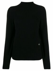 Emilio Pucci turtle neck cashmere jumper - Black