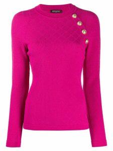Balmain woven jumper - PINK