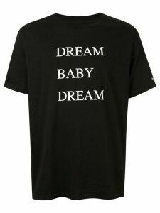 Takahiromiyashita The Soloist slogan T-shirt - Black