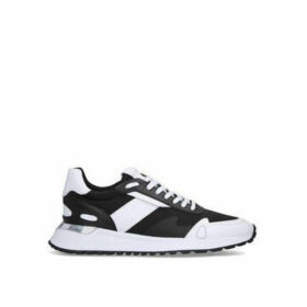 Michael Michael Kors Miles Runner - Black And White Lace Up Trainers