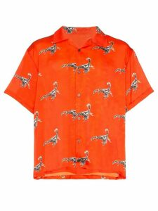 Services Unknown X Browns East revere scorpion print shirt - Red