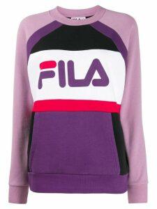 Fila logo print sweatshirt - PINK