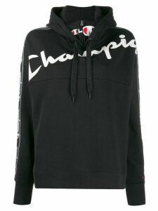 Champion logo-printed hoodie - Black
