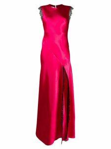 Philosophy Di Lorenzo Serafini sleeveless satin gown - PINK