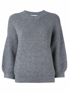 3.1 Phillip Lim Puff-sleeve Pullover - Grey