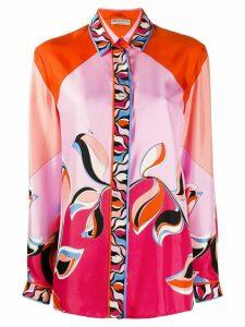 Emilio Pucci floral print shirt - PINK