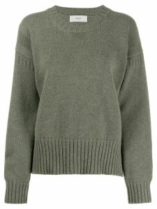 Pringle of Scotland Guernsey Stitch jumper - Green