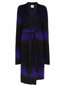 ASAI long line cardigan - PURPLE
