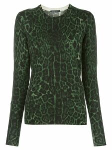 Samantha Sung Womens Hunter Green Knitwear Pullover