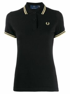Fred Perry embroidered logo polo shirt - Black