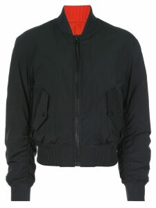Aztech Mountain zipped bomber jacket - Black