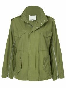 3.1 Phillip Lim Zippered Field Jacket - Green