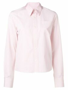 Ami Paris Classic-Wide Fit Shirt With Chest Pocket - PINK